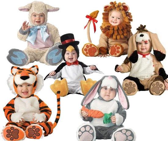 Новогодний костюм детям до года