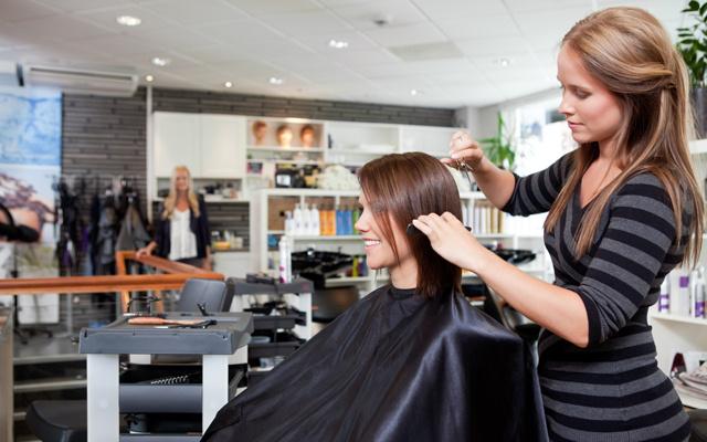 Причёски в парикмахерской фото