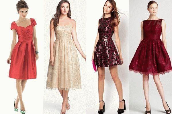 Платья для новый год 2016