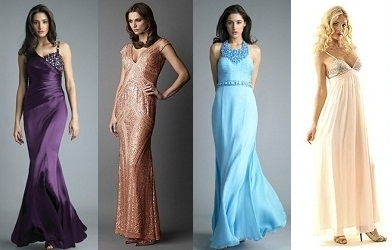 Платье для вечера как выбрать