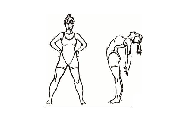 Упражнение для позвоночника