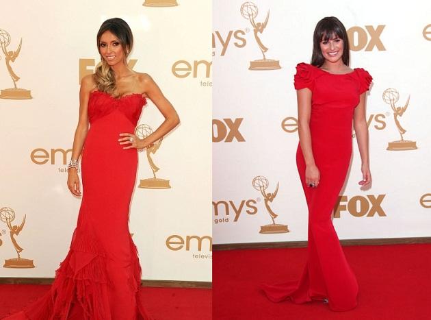 Фото платья красного цвета