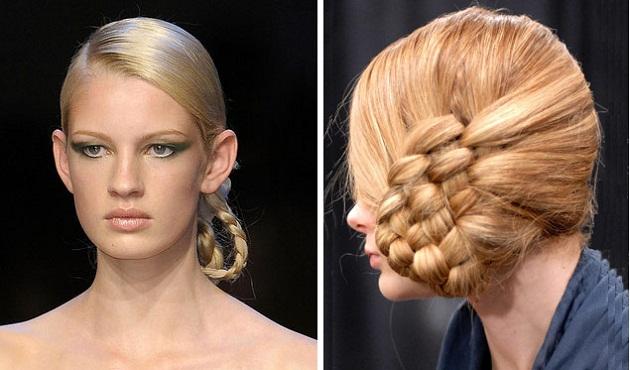 прически для волос косички