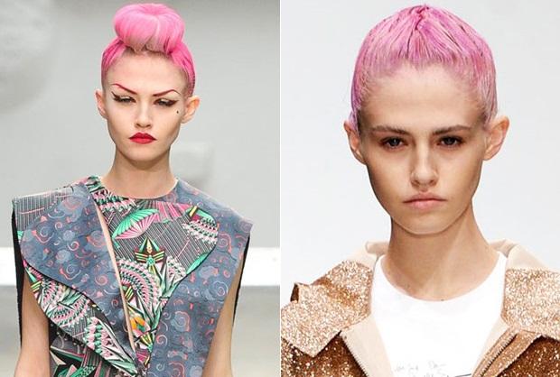 Как покраситься в розовый