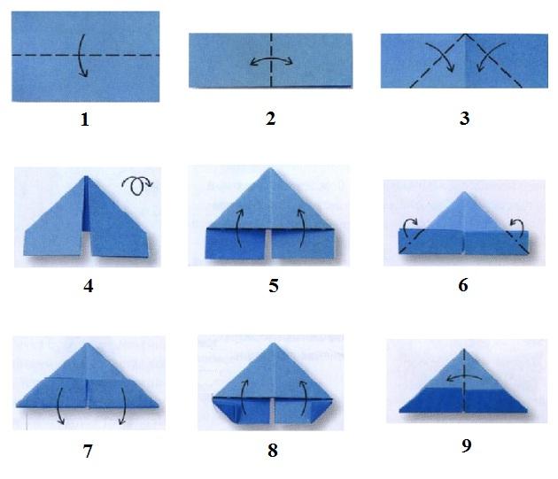 Как сделать оригами лебедя инструкция