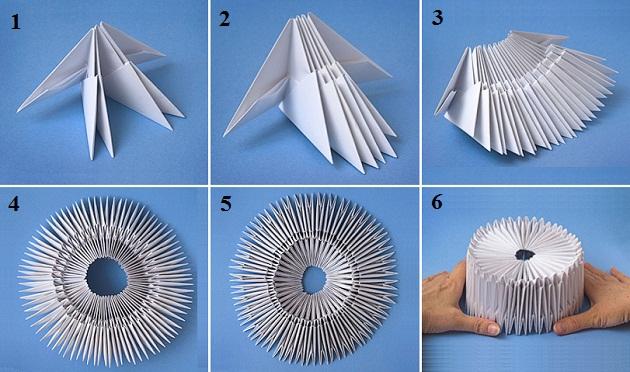 Модули бумажные что можно из них сделать и как 141