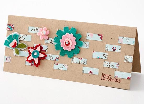 Как оформить открытку бабушке 14