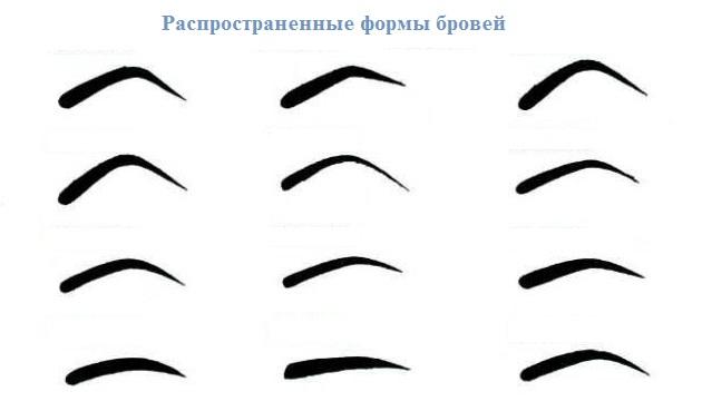 Как сделать форму бровей галочкой