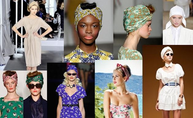 Красивые платки на голову