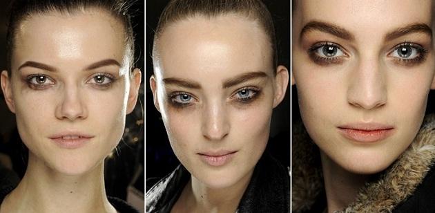 Тенденции макияжа 2012
